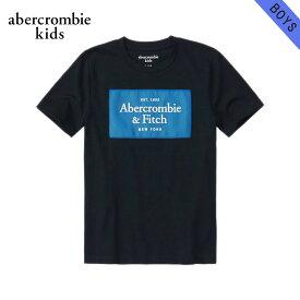 【クーポンゲットで10%OFF 12/1 00:00〜12/2 9:59】 アバクロキッズ Tシャツ ボーイズ 子供服 正規品 AbercrombieKids 半袖Tシャツ クルーネック ロゴTシャツ logo tech tee 223-616-0180-023