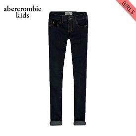アバクロキッズ ジーンズ ガールズ 子供服 正規品 AbercrombieKids ジーパン a&f super skinny jeans rinse
