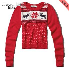 アバクロキッズ セーター ガールズ 子供服 正規品 AbercrombieKids moose intarsia sweater 250-75