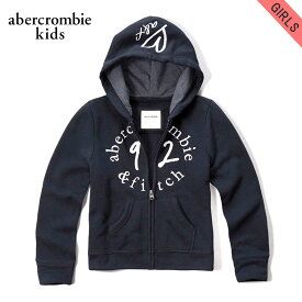 アバクロキッズ パーカー ガールズ 子供服 正規品 AbercrombieKids shine logo full-zip sweatshirt 252-771-0322-023 D00S20