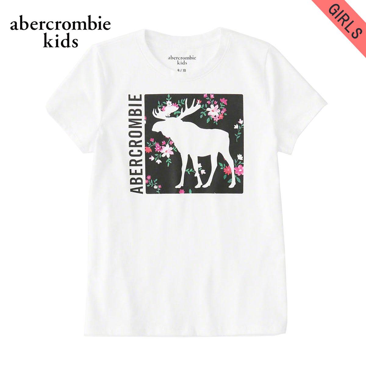 アバクロキッズ AbercrombieKids 正規品 子供服 ガールズ 半袖Tシャツ exploded icon tee 257-0891-0108-001