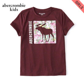 15%OFFセール 【販売期間 12/4 20:00〜12/11 01:59】 アバクロキッズ Tシャツ 子供服 正規品 AbercrombieKids 半袖Tシャツ exploded icon tee 257-0891-0108-055