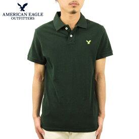 アメリカンイーグル ポロシャツ メンズ 正規品 AMERICAN EAGLE 半袖ポロシャツ POLO 1511-8083 D20S30