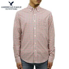 【販売期間 11/19 10:00〜11/26 09:59】 アメリカンイーグル シャツ メンズ 正規品 AMERICAN EAGLE 長袖シャツ AEO Printed Button Down Shirt 05