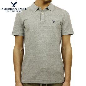 アメリカンイーグル ポロシャツ 正規品 AMERICAN EAGLE 半袖ポロシャツ AEO CLASSIC FIT FLEX PIQUE POLO 1165-8500 066 D00S20