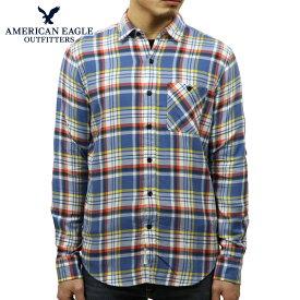 【ポイント10倍 11/19 20:00〜11/26 01:59まで】 アメリカンイーグル シャツ メンズ 正規品 AMERICAN EAGLE 長袖シャツ ワークシャツ AEO CLASSIC PLAID SHIRT 2153-9833-900