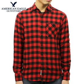 アメリカンイーグル シャツ メンズ 正規品 AMERICAN EAGLE 長袖シャツ ボタンダウンシャツ AEO CLASSIC PLAID SHIRT 2153-9833-600