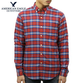 31fd7b97 American eagle AMERICAN EAGLE regular article men long sleeves button-down  shirt AEO CLASSIC PLAID
