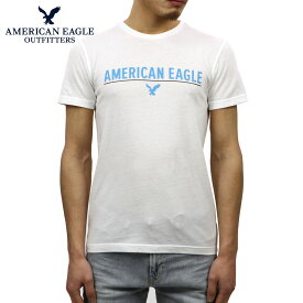 アメリカンイーグル Tシャツ 正規品 AMERICAN EAGLE 半袖Tシャツ クルーネック AE SHORT SLEEVE GRAPHIC TEE 0519-3603-100