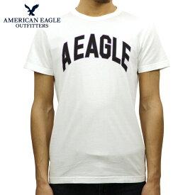 アメリカンイーグル AMERICAN EAGLE 正規品 メンズ クルーネック 半袖ロゴTシャツ AE Graphic Tee 0181-3806-100