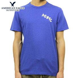 アメリカンイーグル AMERICAN EAGLE 正規品 メンズ クルーネック 半袖ロゴTシャツ AE BRANDED GRAPHIC TEE 0181-3670-403