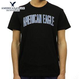 アメリカンイーグル AMERICAN EAGLE 正規品 メンズ クルーネック 半袖ロゴTシャツ AE Graphic Tee 0181-3806-001