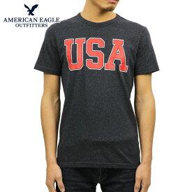 アメリカンイーグル AMERICAN EAGLE 正規品 メンズ クルーネック 半袖ロゴTシャツ AE BRANDED GRAPHIC TEE 0181-3670-427