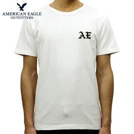 アメリカンイーグル Tシャツ 正規品 AMERICAN EAGLE 半袖Tシャツ クルーネック AE EMBROIDERED GRAPHIC TEE 0181-3788-100
