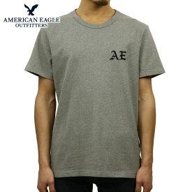 アメリカンイーグル Tシャツ 正規品 AMERICAN EAGLE 半袖Tシャツ クルーネック AE EMBROIDERED GRAPHIC TEE 0181-3789-012