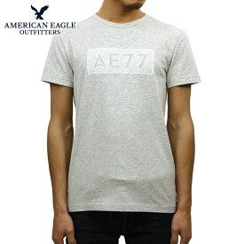 アメリカンイーグル AMERICAN EAGLE 正規品 メンズ クルーネック 半袖ロゴTシャツ AE GRAPHIC TEE 0181-3776-003