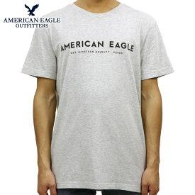 アメリカンイーグル AMERICAN EAGLE 正規品 メンズ クルーネック 半袖ロゴTシャツ AE SHORT SLEEVE GRAPHIC TEE 0181-3758-018 買いまわり
