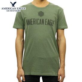 アメリカンイーグル AMERICAN EAGLE 正規品 メンズ クルーネック 半袖ロゴTシャツ AE GRAPHIC TEE 0181-3736-309