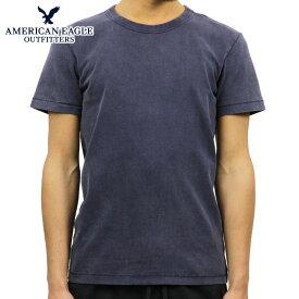 アメリカンイーグル AMERICAN EAGLE 正規品 メンズ クルーネックTシャツ AE Classic Soft Brushed Cotton Tee 1162-9299-410