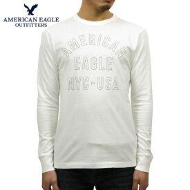 アメリカンイーグル Tシャツ メンズ 正規品 AMERICAN EAGLE 長袖Tシャツ AE Long Sleeve Graphic Tee 1182-4072-101