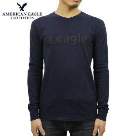アメリカンイーグル Tシャツ メンズ 正規品 AMERICAN EAGLE 長袖Tシャツ AE Long Sleeve Graphic Tee 1182-3857-427
