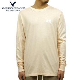 アメリカンイーグル Tシャツ メンズ 正規品 AMERICAN EAGLE 長袖Tシャツ AE Long Sleeve Graphic Tee 1182-3969-619