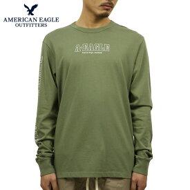 アメリカンイーグル Tシャツ メンズ 正規品 AMERICAN EAGLE 長袖Tシャツ AE Long Sleeve Graphic Tee 1182-3969-309