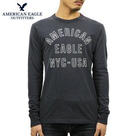 アメリカンイーグル Tシャツ メンズ 正規品 AMERICAN EAGLE 長袖Tシャツ AE Long Sleeve Graphic Tee 1182-4072-405
