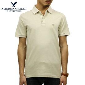 アメリカンイーグル AMERICAN EAGLE 正規品 メンズ ワンポイントロゴ 半袖ポロシャツ AE Ultra Soft Logo Polo Shirt 1165-8848-212