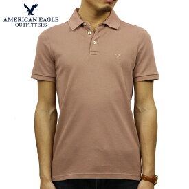 アメリカンイーグル AMERICAN EAGLE 正規品 メンズ ワンポイントロゴ 半袖ポロシャツ AE Ultra Soft Logo Polo Shirt 1165-8848-639