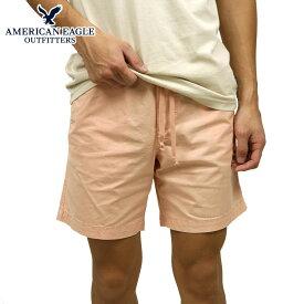 アメリカンイーグル ジョガーパンツ メンズ 正規品 AMERICAN EAGLE ボトムス ハーフパンツ ショートパンツ AE FLEX JOGGER SHORT 4132-6709-808 買いまわり