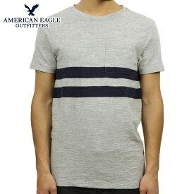 アメリカンイーグル Tシャツ 正規品 AMERICAN EAGLE 半袖Tシャツ AE STRIPE TEE 1162-9263-012