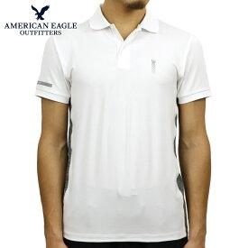 アメリカンイーグル ポロシャツ 正規品 AMERICAN EAGLE 半袖ポロシャツ AE ACTIVE POLO 1165-8690-100