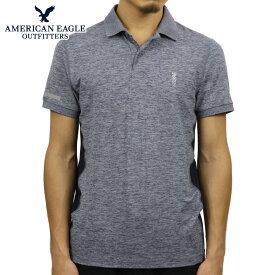 アメリカンイーグル ポロシャツ 正規品 AMERICAN EAGLE 半袖ポロシャツ AE ACTIVE POLO 1165-8690-410