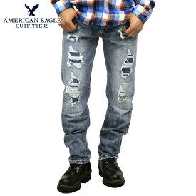 アメリカンイーグル ジーンズ メンズ 正規品 AMERICAN EAGLE ジーパン デニムパンツ SLIM STRAIGHT JEAN 0116-4260-909 買いまわり