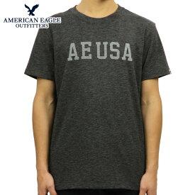 アメリカンイーグル Tシャツ 正規品 AMERICAN EAGLE 半袖Tシャツ クルーネック AE GRAPHIC TEE 0181-3668-020