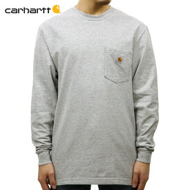 カーハート CARHARTT 正規品 メンズ 長袖ポケットTシャツ WORKWEAR POCKET LONG-SLEEVE T-SHIRT K126 HGY