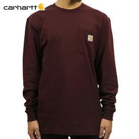カーハート CARHARTT 正規品 メンズ 長袖ポケTシャツ WORKWEAR POCKET LONG-SLEEVE T-SHIRT K126 PRT PORT