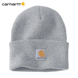 カーハート キャップ メンズ 正規品 CARHARTT ニットキャップ 帽子 ACRYLIC WATCH HAT A18 HGY