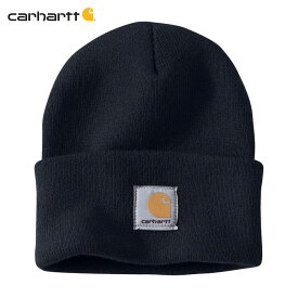 カーハート キャップ メンズ 正規品 CARHARTT ニットキャップ 帽子 ACRYLIC WATCH HAT A18 NVY 父の日