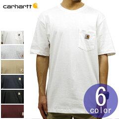 カーハートCARHARTT正規品メンズ無地半袖ポケットTシャツWORKWEARPOCKETSHORT-SLEEVET-SHIRTK87