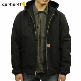 5%OFFセール 【販売期間 4/9 20:00〜4/16 01:59】 カーハート アクティブジャケット メンズ 正規品 CARHARTT アウター ジャケット THERMAL-LINED DUCK ACTIVE JACKET J131 - BLK BLACK