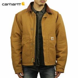 カーハート アウター メンズ 正規品 CARHARTT ジャケット ジャケット DUCK TRADITIONAL JACKET J002 - BRN CARHARTT BROWN