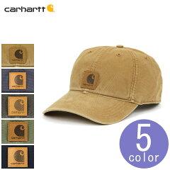 カーハートCARHARTT正規品メンズレディース帽子ウォッシュ加工ローキャップODESSACAP100289-301