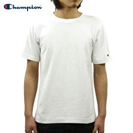 チャンピオン CHAMPION 正規品 メンズ クルーネック 半袖Tシャツ REVERSE WEAVE T-SHIRT C3-X301 010 WHITE