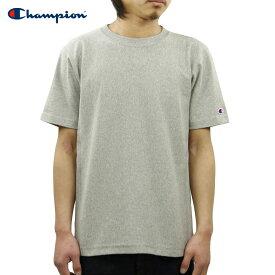 チャンピオン CHAMPION 正規品 メンズ クルーネック 半袖Tシャツ REVERSE WEAVE T-SHIRT C3-X301 070 OXFORD GREY