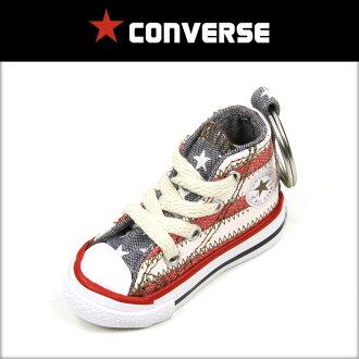 컴 버스 CONVERSE 정품 스 니 커 즈 키 링 Chuck Taylor Sneaker Keychain ALL STAR HIGH USA FLAG 10P28Sep16