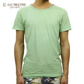 【ポイント10倍 8/22 10:00〜8/24 23:59まで】 ディストレス Tシャツ 正規販売店 DSTREZZED 半袖Tシャツ R-neck s/s Slub Jersey 202175 17 D15S25