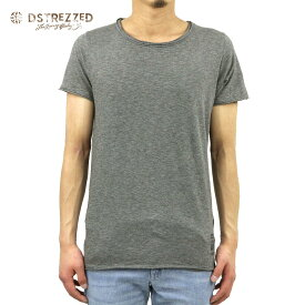 ディストレス Tシャツ 正規販売店 DSTREZZED 半袖Tシャツ Basic Crew s/s Slub Jersey 202209 94 D00S20