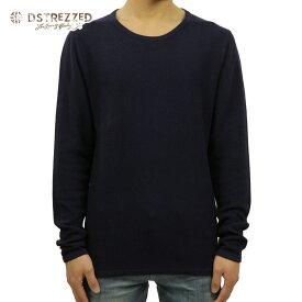 【ポイント10倍 8/22 10:00〜8/24 23:59まで】 ディストレス Tシャツ メンズ 正規販売店 DSTREZZED 長袖Tシャツ Crew Structure knit 404056 69 D00S20